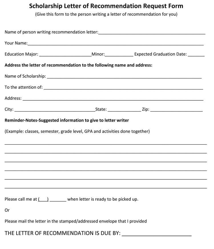 Scholarship Recommendation Letter (20+ Sample Letters with Guidelines)
