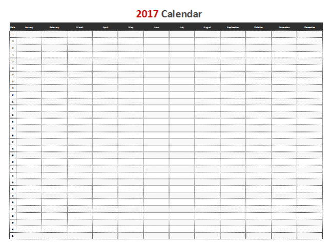 calendar template microsoft