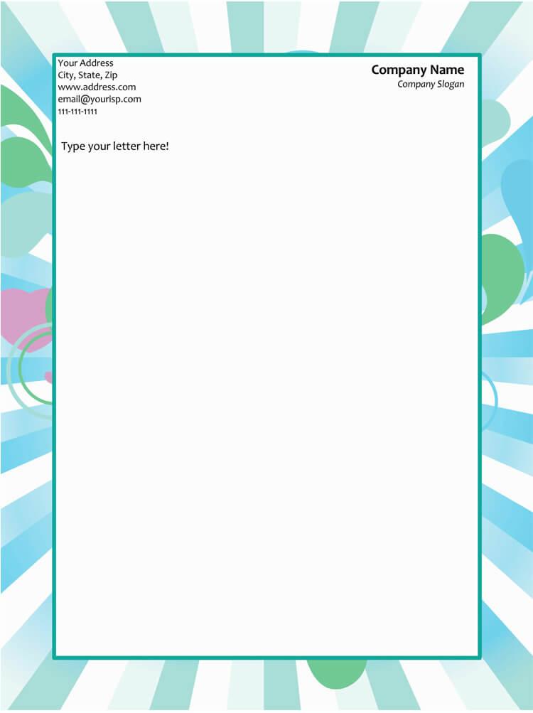 50+ Free Letterhead Templates  Formats (for Word) - Elegant Designs