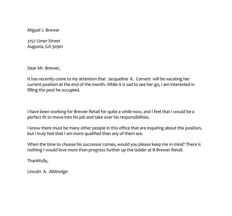 38+ Letter of Interest Samples  Examples (Writing Guidelines)