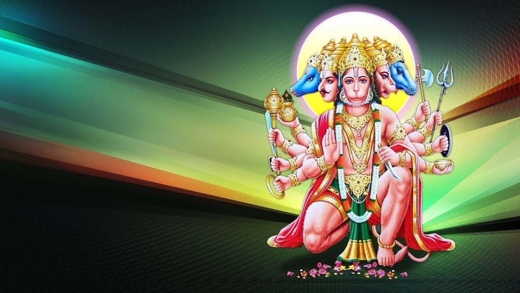 Durga Puja 3d Wallpaper Panchmukhi Hanuman Wallpapers Wordzz