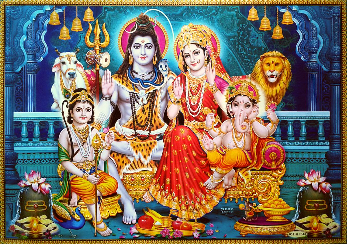 Holi Wallpaper 3d Shiva Family Image Collection 1 Wordzz