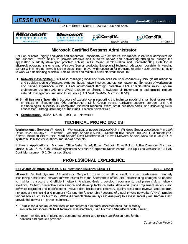 Kronos Systems Administrator Resume madebyrichard