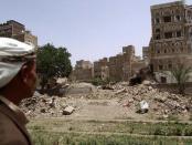 On June 15, bombs hit the Old City of Yemen's capital, Sanaa.