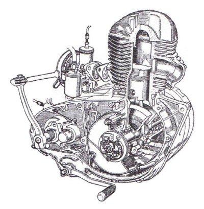 motorcycle engine diagram