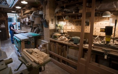 Carpenter workshop, Paris