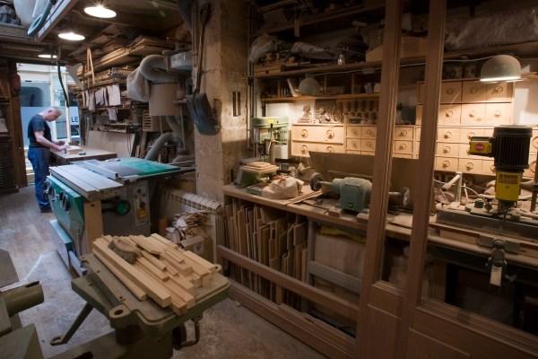 Carpenter workshop, Paris
