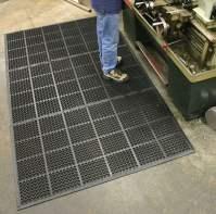 High Duty Industrial Rubber Floor Mats - Workplace Stuff