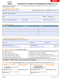 worksafe bc incident report