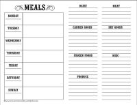 19 Best Images of Meal-Planning Printable Worksheets ...