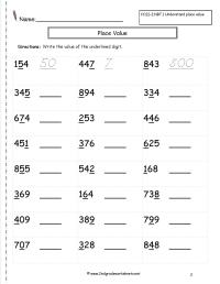 4th Grade Fractions Worksheets Common Core - math ...