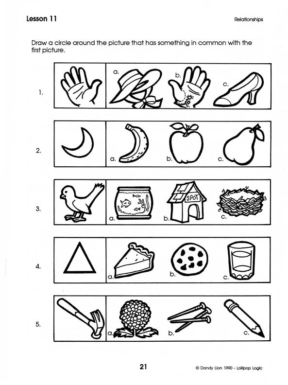 Free printable critical thinking games for kids - Critical Thinking
