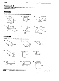 18 Best Images of Area Surface Area Volume Worksheets ...