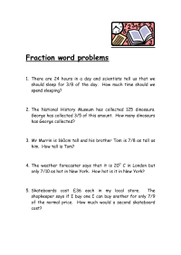 Search Results for Third Grade Math Fraction Word Problem