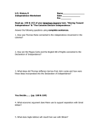 17 Best Images of English Bill Of Rights Worksheet ...