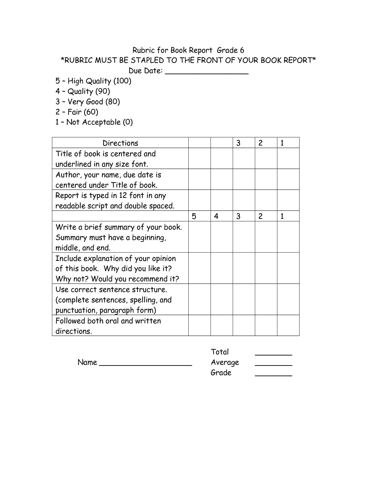 Usmc Book Report Template Zrom