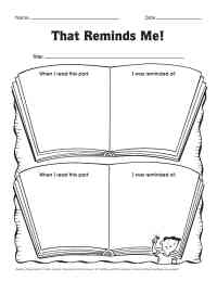 17 Best Images of Reading Response Worksheets 4th Grade ...
