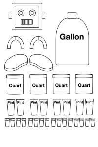 16 Best Images of Robot Measuring Worksheet - Gallon Man ...