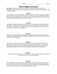 17 Best Images of Constitution Worksheets For Middle ...