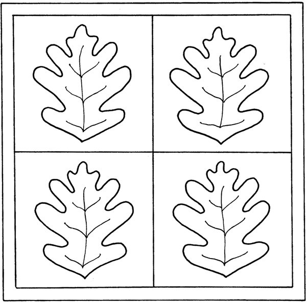 11 Best Images of Autumn Leaf Patterns Worksheets - Printable Fall