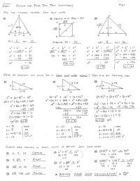 Congruent Triangles Practice Worksheet Answers - congruent ...