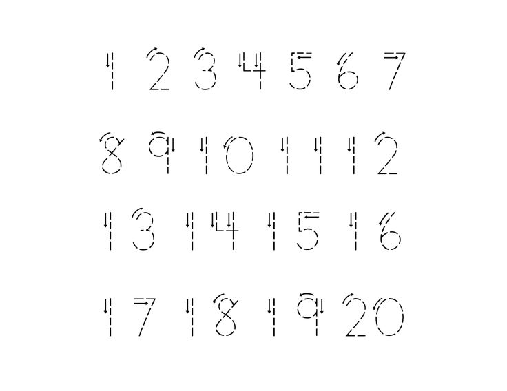16 Best Images of Numbers 1 Through 20 Worksheets - Printable Number