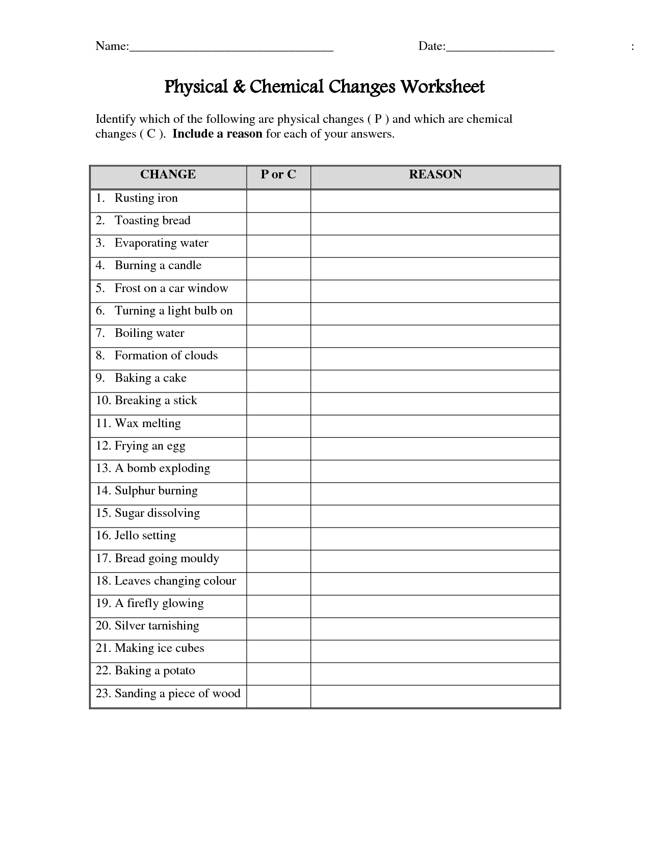 Physical or Chemical Change Worksheet   Lostranquillos moreover Report Questions  E2 Elimination furthermore Physical Vs Chemical Changes Worksheet Answers Physical And Chemical additionally  likewise √ Physical Chemical Change Worksheet likewise Physical Vs Chemical Changes Worksheet Answers Cover Image Physical likewise Properties Of Matter Worksheets Grade 5 Related Image Physical also Physical And Chemical Properties And Changes Worksheet   Free additionally  together with Physical Chemical Properties Changes Worksheet   Siteraven additionally  additionally 8th grade chemistry worksheets – reynoldbot together with Chemical Change Printables  perfect clification of chemical besides 41 Best Of Physical Vs Chemical Changes Worksheet also Physical and chemical changes chatterbox  fortune teller by as well Chemistry 1 Worksheet Clification Of Matter and Changes Answer. on physical or chemical change worksheet