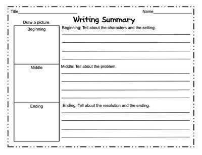 Writing article summary template Speech hearing - article summary template