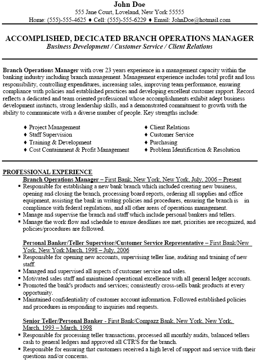 branch manager resume bank endowed portrait meanwhile assistant - bank branch manager resume