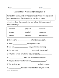 15 Best Images of Worksheets Word Problems Part 2 ...