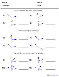 11 Best Images of Drawing Angles Worksheet - Naming Angles ...