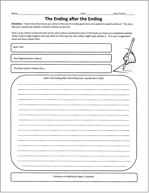 17 Best Images of Book Review Worksheet Middle School - Book Review