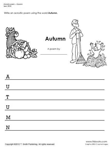 15 Best Images of Autumn Worksheets For Second Grade - Fall Math