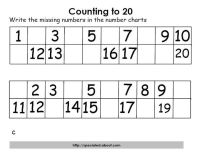 19 Best Images of Counting Numbers Worksheets - Counting ...
