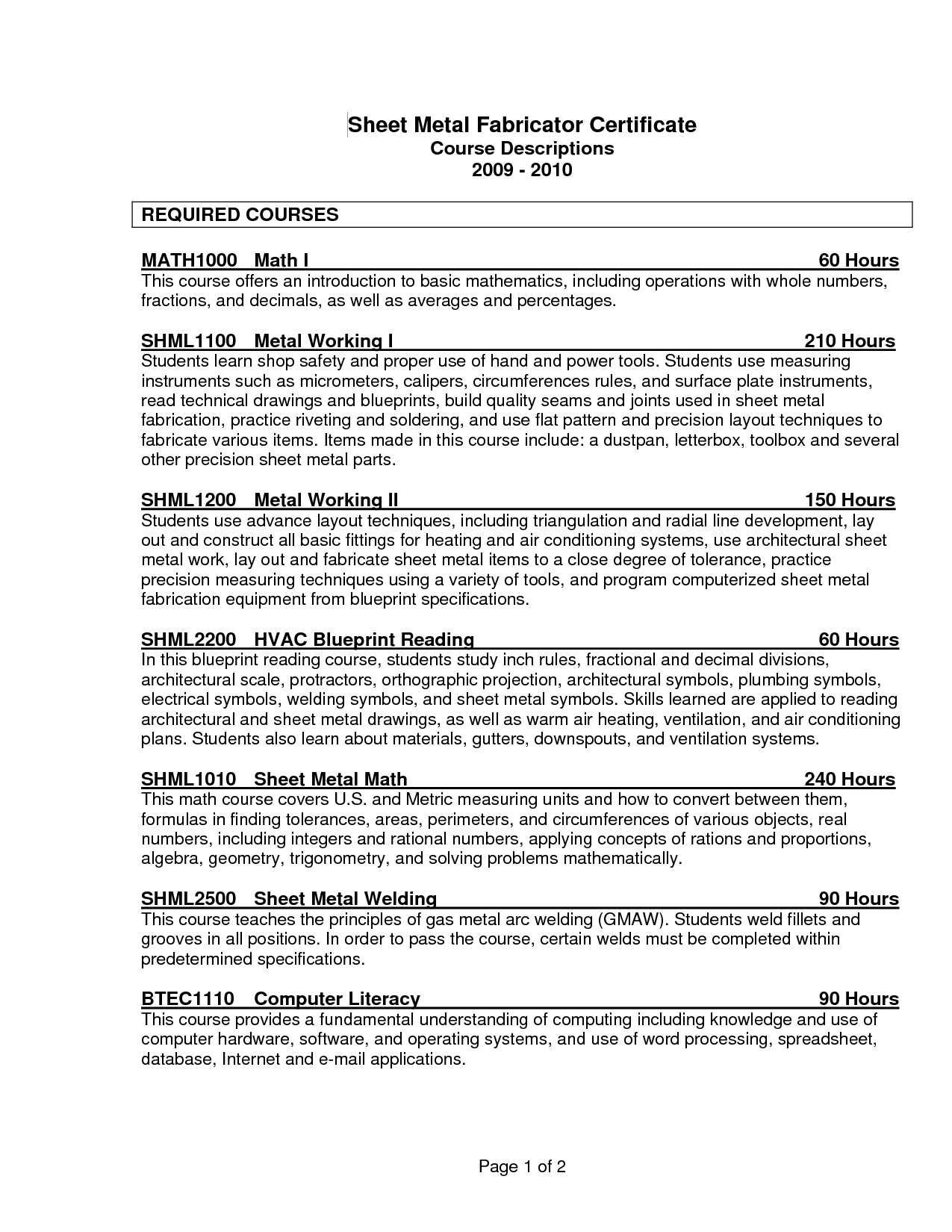 sample resume without picture