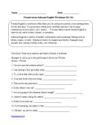 16 Best Images of 5 Grade English Worksheets - Grammar ...