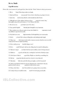Printable English Grammar Worksheets For High School ...