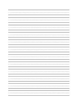 13 Best Images of Printable Blank Handwriting Worksheets - Printable