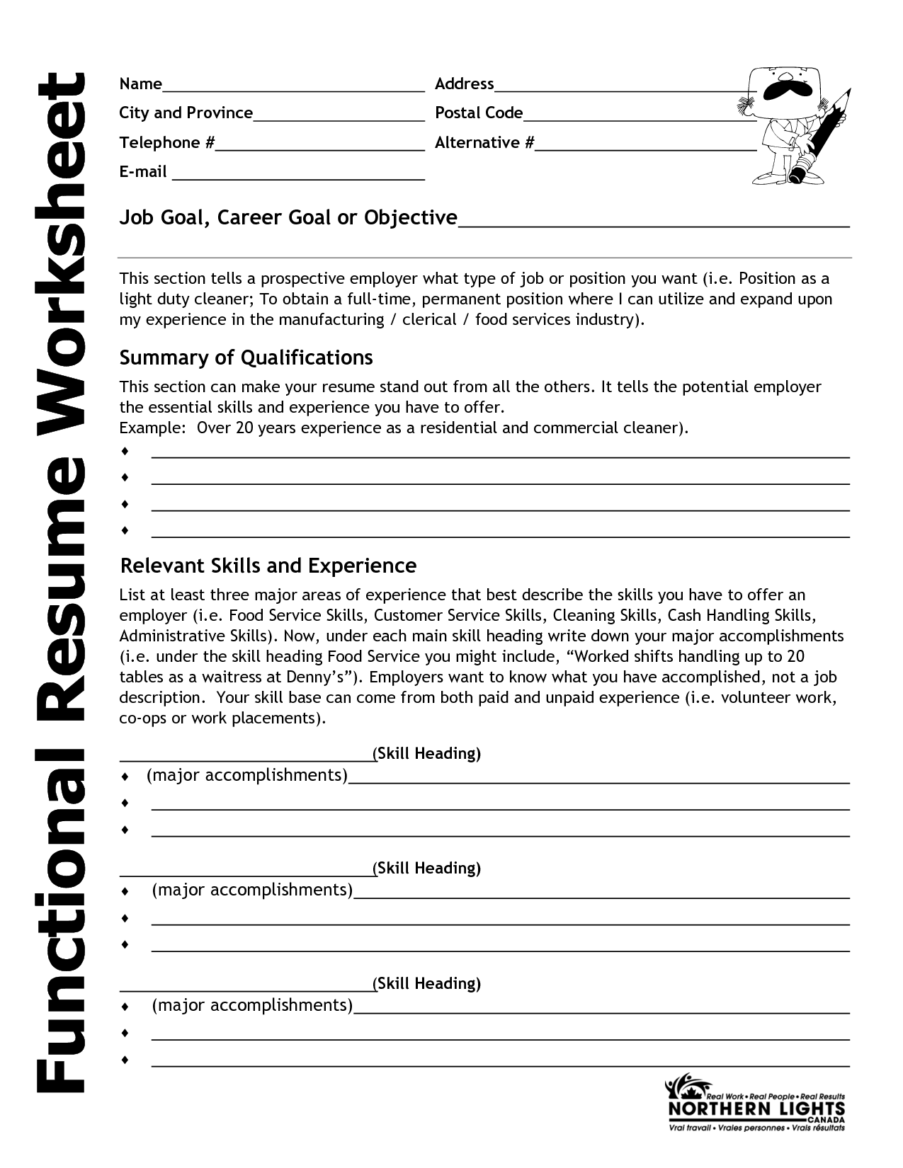 Printables Resume Worksheet Template resume worksheet template worksheet