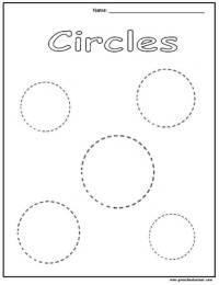 17 Best Images of Pre -K Circle Worksheets - Circle ...