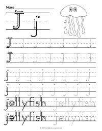 Worksheet Letter J - Livinghealthybulletin