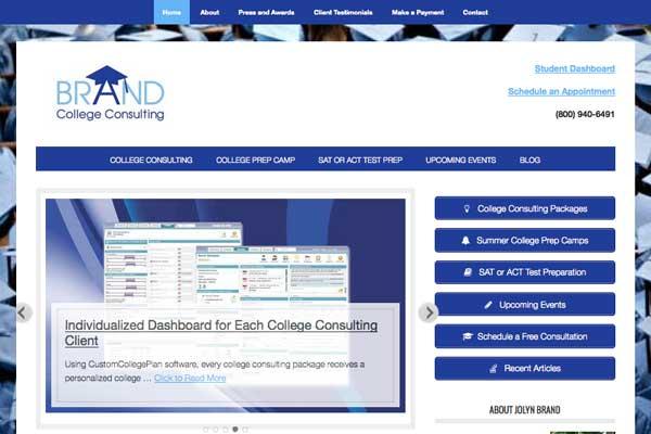WordPress-design-college-consultant
