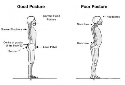 text neck diagram
