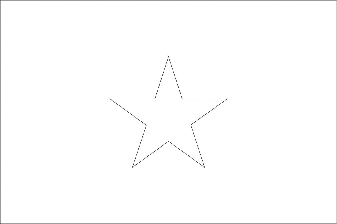 Somalia Flag Coloring Page - Democraciaejustica