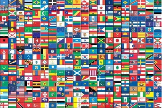 Full Page Printable World Flags