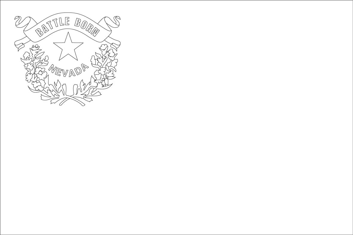 Unique Nevada State Flag Coloring Page Photos - Coloring Paper ...