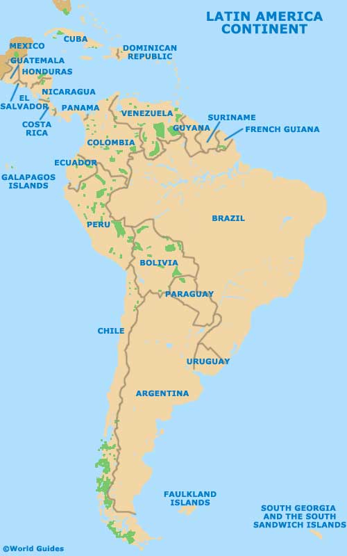 Latin America Tourism and Tourist Information Information about