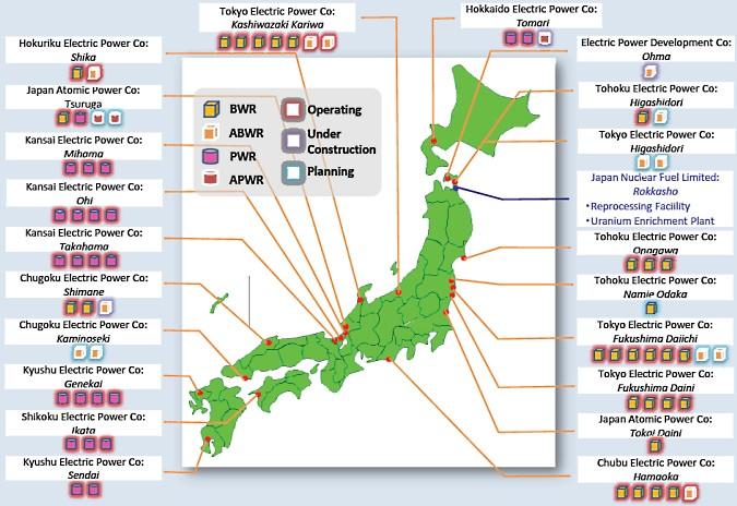 Nuclear Power in Japan Japanese Nuclear Energy - World Nuclear