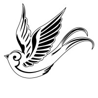 Swooping Swallow Tattoo Bird Animal Wall Sticker - World ...