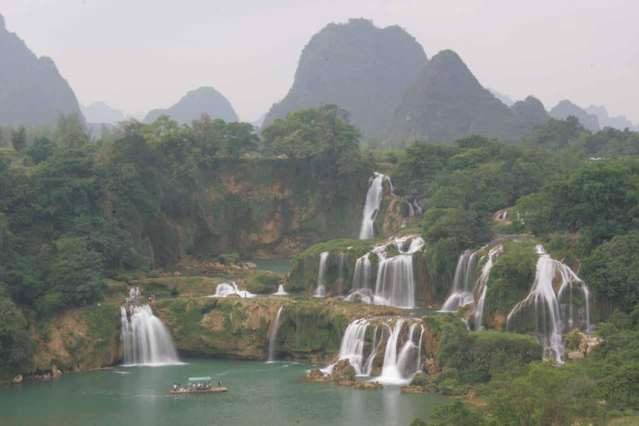 Angel Falls Venezuela Wallpaper Detian Waterfall Daxin County Guangxi China